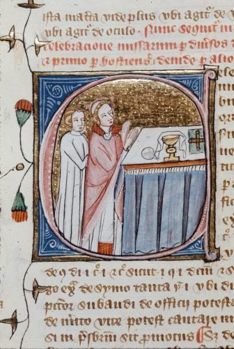 Celebracio missarum (Celebration of masses)