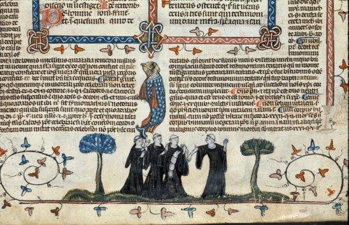 Four monks