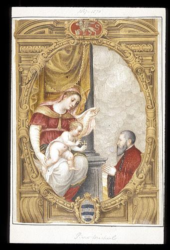 Commission from Pietro Loredan to Piero Michiel