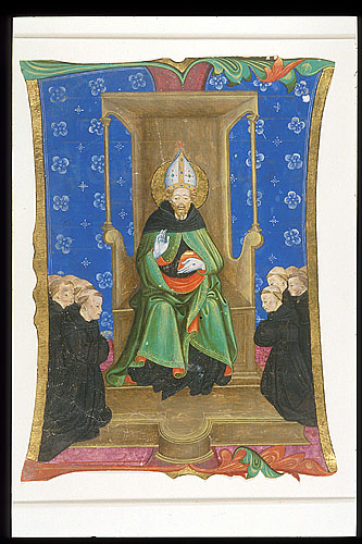 Augustine enthroned