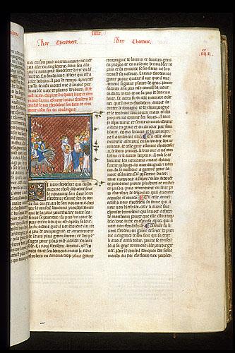 Theoderic and Theodebert