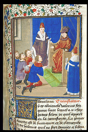 Ruler granting clemency to prisoners