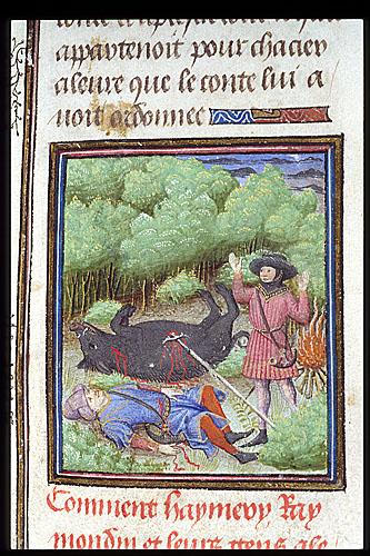 Raymond killing his uncle