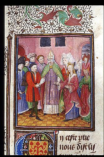 Marriage of Melusine and Raymond