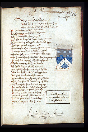 Heraldry and signatures