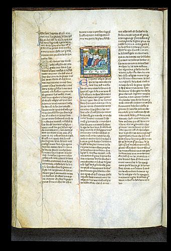 Joseph of Arimathea and his followers praying