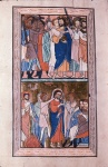 Betrayal of Christ and Peter's denial
