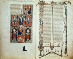 Crucifixion, Virgin, and Martin and Days of Creation