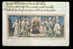 Edmund holding court