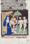 Boccaccio with Adam and Eve