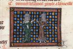 Bel-Acoeil talking to the old woman