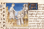 Christ departing