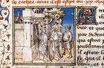 Christ entering Jericho