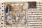 Virgin and Apostles mourning