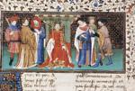Alexander enthroned