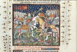 Battle between Alexander and Porrus