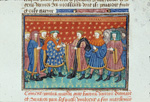 Ponthus and knights