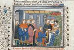 King of England receiving Ponthus