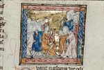 Joseph of Arimathea and the pagan duke