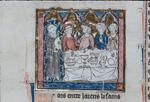 Hermit Nascien at Arthur's court