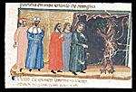 Inferno, Canto V, Second circle: Minos judging three souls