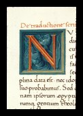 Faceted initial