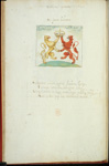 Book 2, Emblem II [labelled 'primum' in error]: Sic pacem habemus