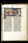 Henry III visiting Louis IX