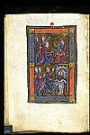Adoration of the Magi and Christ entering Jerusalem
