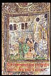 Man kneeling before an altar