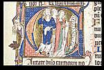 Three clerics singing