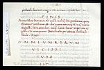 Colophon of 'Omnium rerum' scribe
