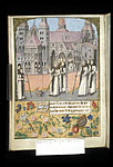 Bernard taking possession of the Abbey of Clairvaux