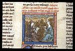 Blaise writing down Gawain's adventures