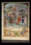 Chilperic receiving saints