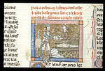 Lancelot holds the head of his grandfather