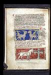 Goats; monoceros