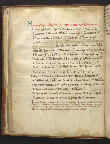 List of relics