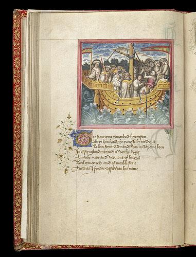 Offa at sea