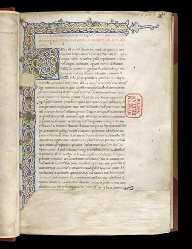 Full border and white vine initial