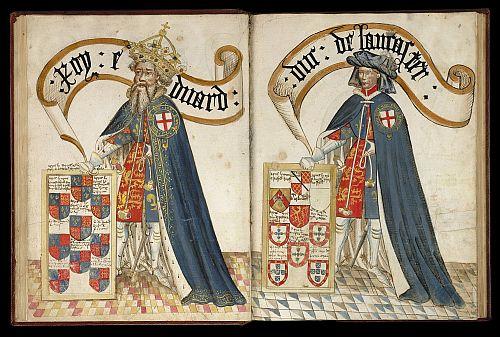 Edward III and Duke of Lancaster