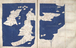 Map of Ireland, Britain, France, and Germany