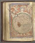 Christ holding a globe