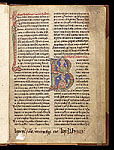 Zoomorphic and historiated initials