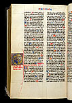 Added historiated initial