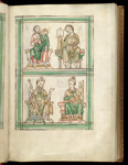 John the Baptist and John the Evangelist