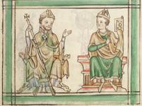 Two bishop saints