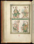 Edward the Confessor, Edward the Martyr (?), and Catherine