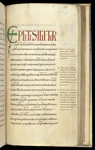 Initial and incipit