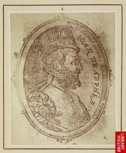 Juan d'Arphe:  His portrait. (1585.)